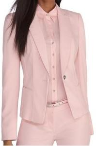 Light Pink Blazer Front